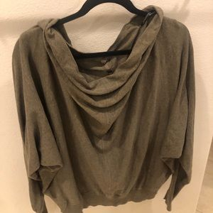 Cowl neck reversible All Saints sweater